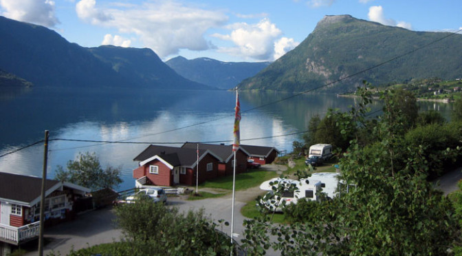 Viki Fjordcamping i Luster ved Sognefjorden